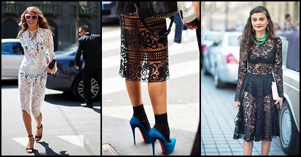 2b8c2e5cf6 Szalenie modne są koronkowe sukienki