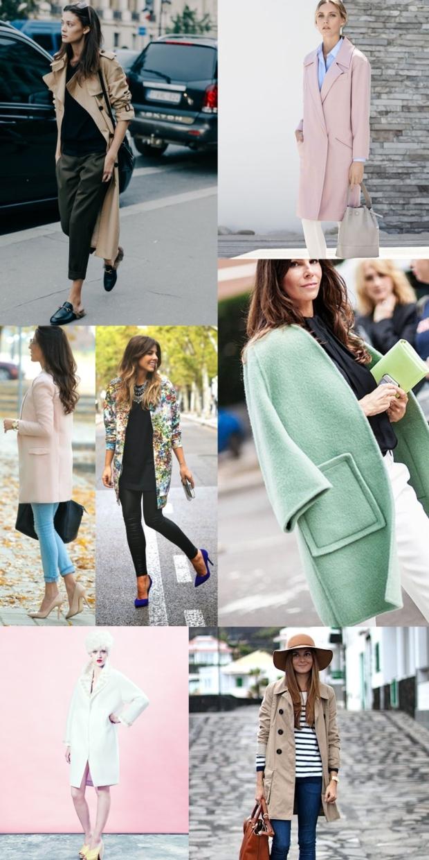 Spring coat laski